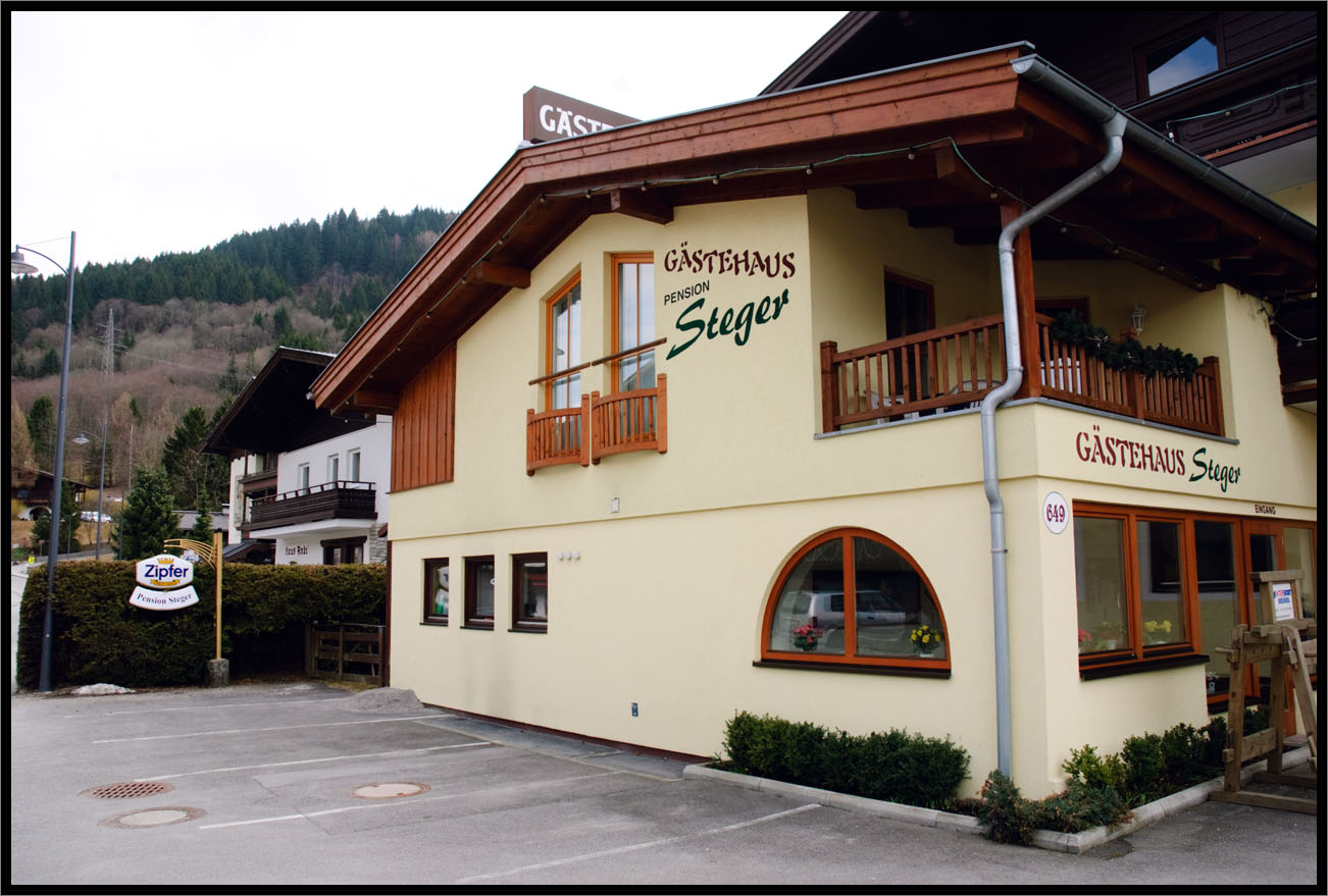 Small hostel on the edge of the town where I lived