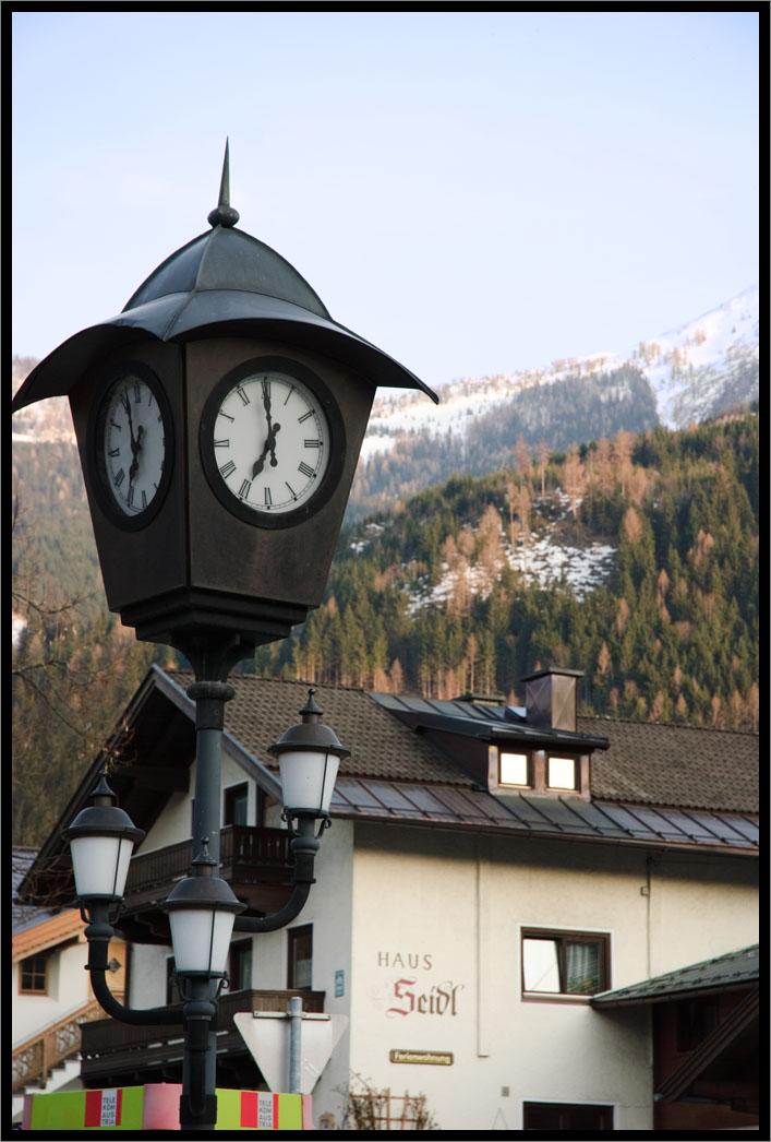 ok, the clock again !