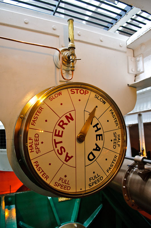 HMS Warrior' engine room