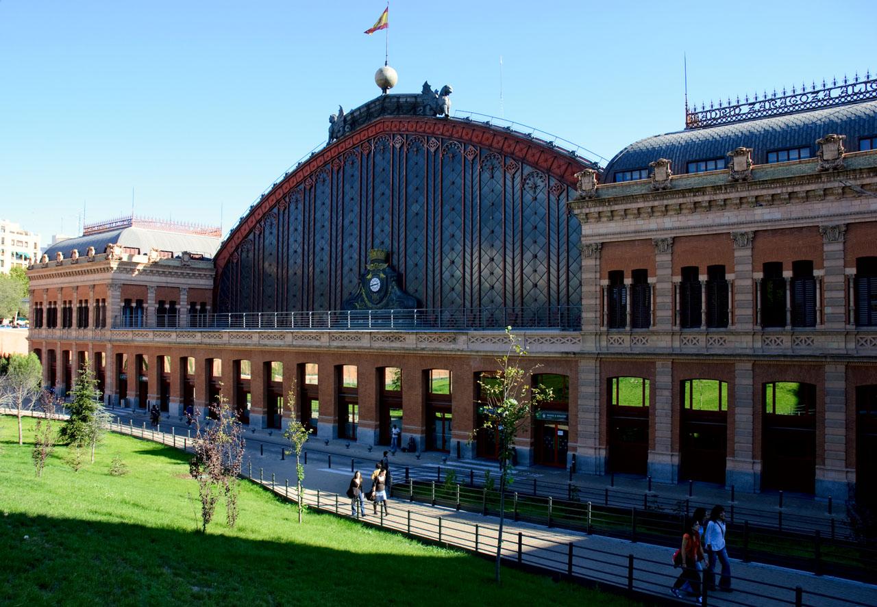 Train station Atocha