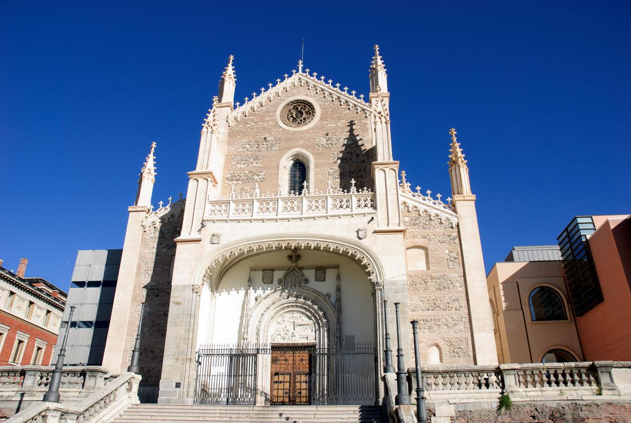 Church next to the Prado